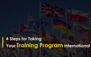 4 Steps for Taking Your Training Program International