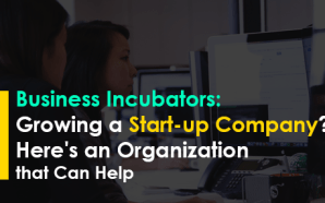Business Incubators: Growing a Start-up Company? Here's an Organization that Can Help