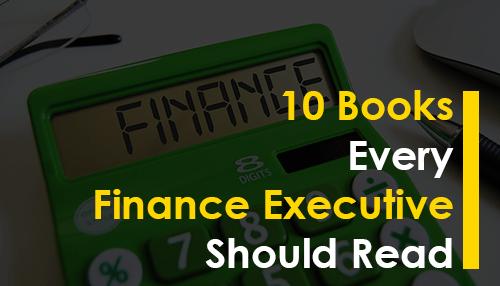 10 Books Every Finance Executive Should Read