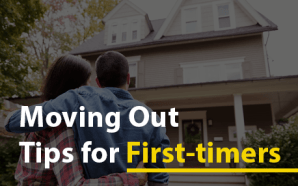 Moving Out Tips for First-timers