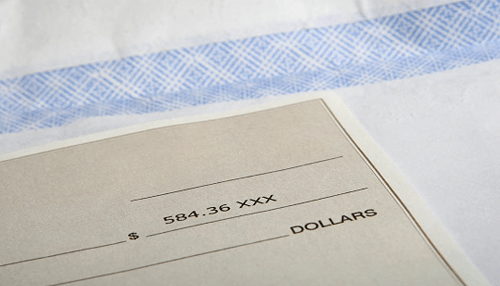 Payment slips