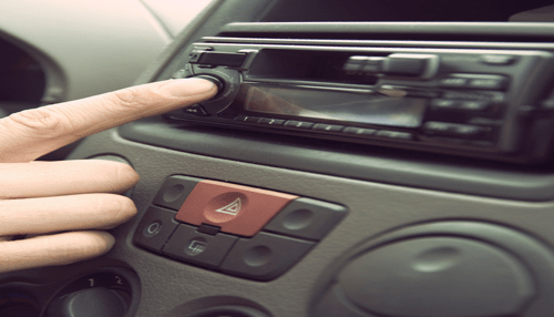 sound system in vehicle
