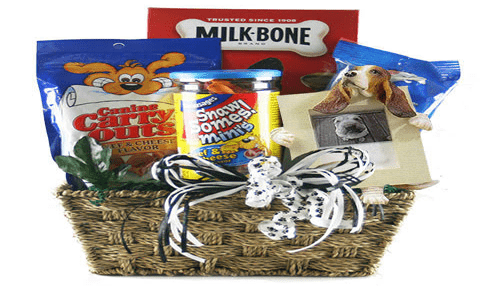 Gift basket for pets