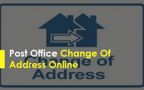 Post Office Change Of Address Online