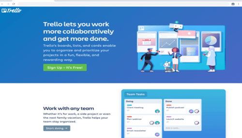 Trello Project Management app for small business owners