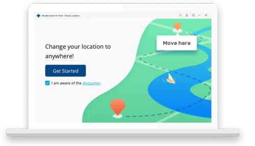Dr.Fone-Virtual Location