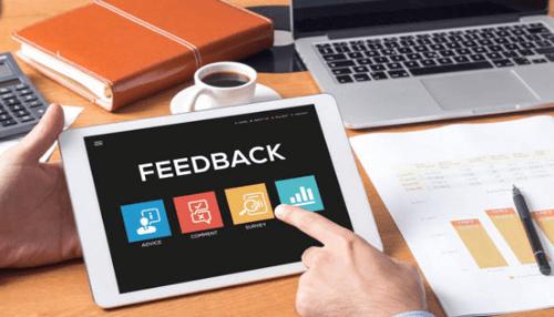 Importance of feedback