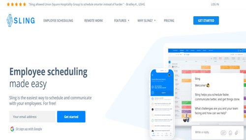 Sling schedule maker