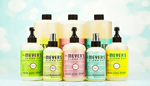 Mrs. Meyer's Eco Friendly cleaning products