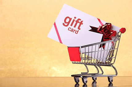 Purchasing gift cards