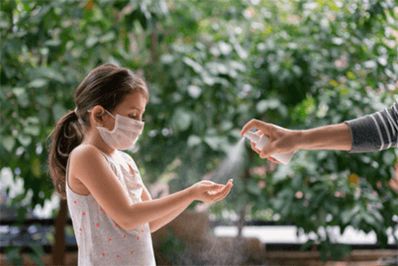 HAND HYGIENE AND FACE MASK USE