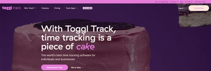 Toggl Productivity SaaS Tool