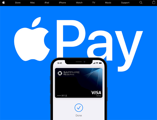 Apple Pay Online payment solutions