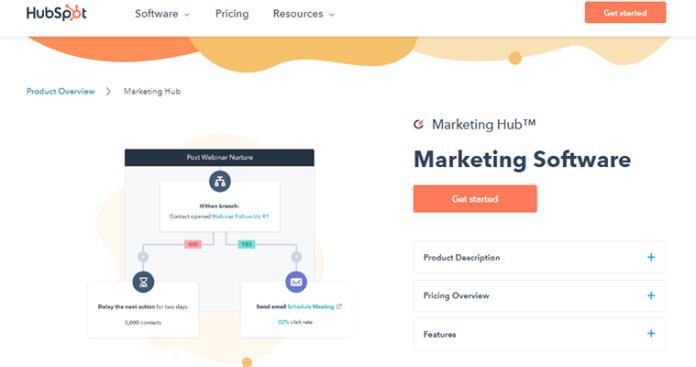 Hubspot marketing automation tools
