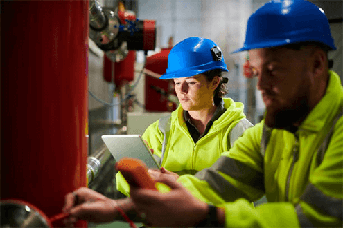 Inspection software and tools for power plants