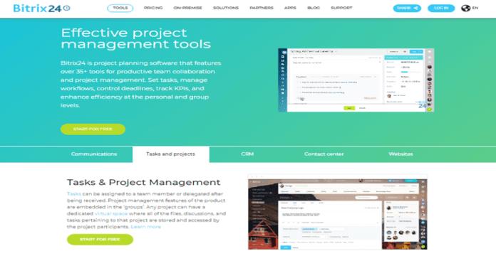 Bitrix24 project management