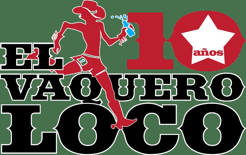 Logo for El Vaquero Loco mountain running race