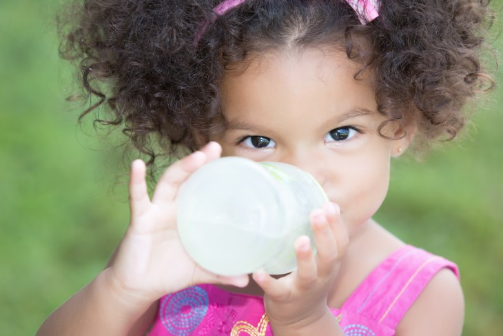 Even picky toddlers know delicious water when they taste it.