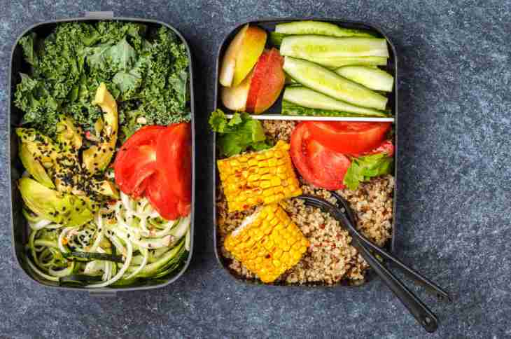 HEalthy meal prep containers quinoa avocado | Morning Routine Hacks That Will Make Life Easier
