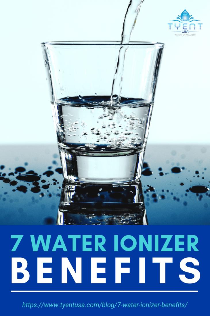 7 Water Ionizer Benefits!   https://www.tyentusa.com/blog/7-water-ionizer-benefits/