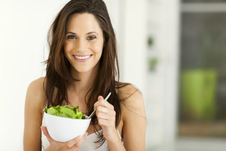Woman eating healthy   Everything You Need To Know About Healthy Eating