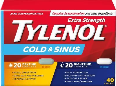 TYLENOL® Cold & Sinus | TYLENOL®