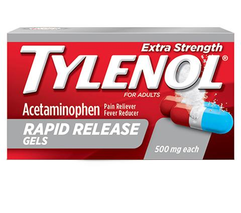 TYLENOL® Rapid Release Gels for Fast Headache Relief ...