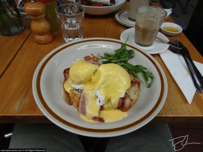 Eggs Benedict Melbourne Australia