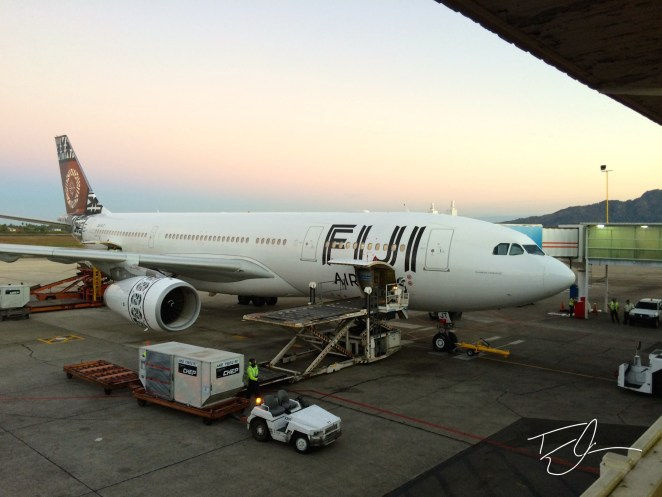 Fiji Airways 767 by Tyler Cramer