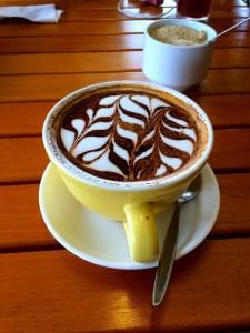 Yummy cappuccino in Nadi, Fiji by Tyler Cramer