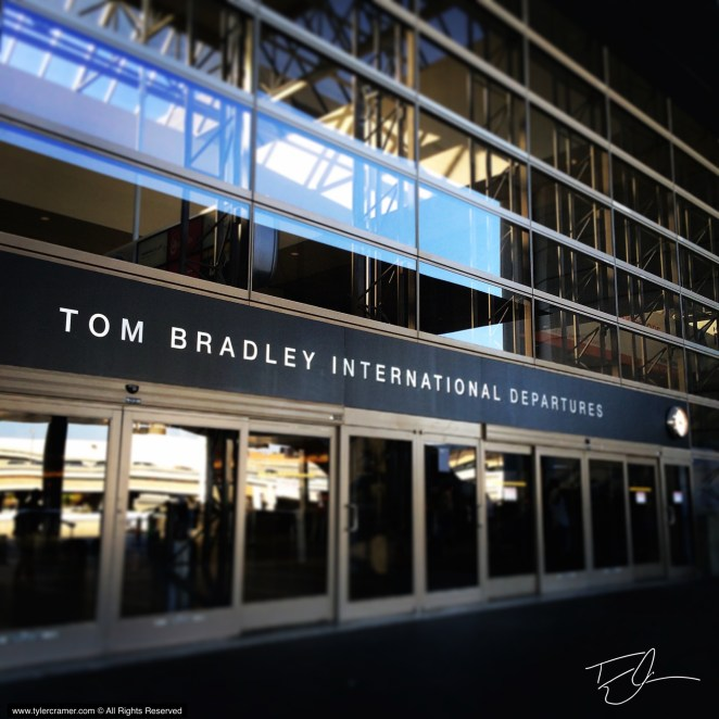 Tom Bradley International Terminal LAX Los Angeles California