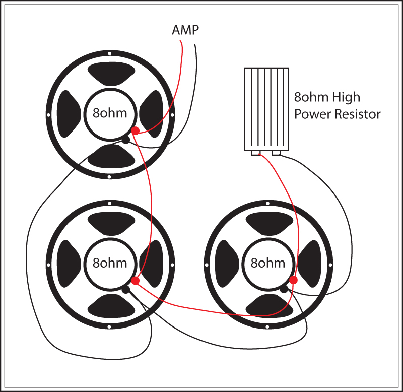 Super Reverb: Replace one speaker with High Power 8 ohm