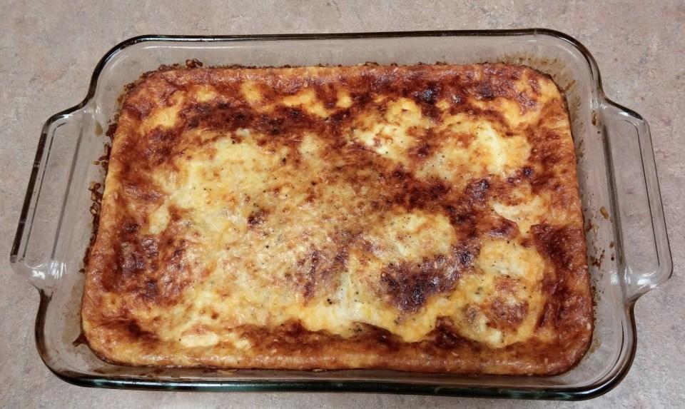 3 Cheese Souffle Casserole