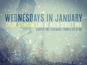 Tyler Stenson at 45th Street Pub