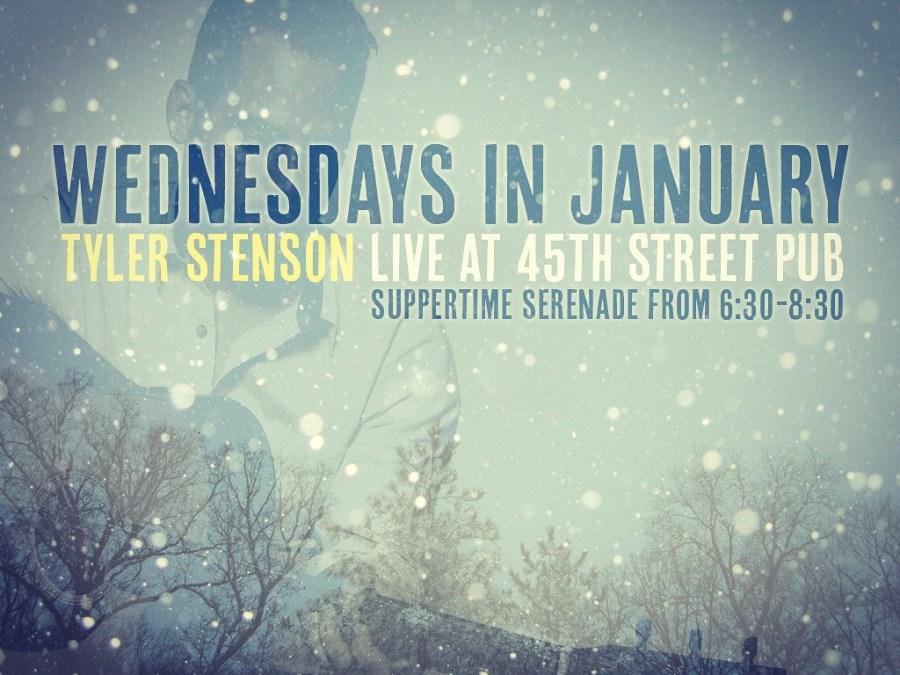 Tyler Stenson at 45th Street Pub