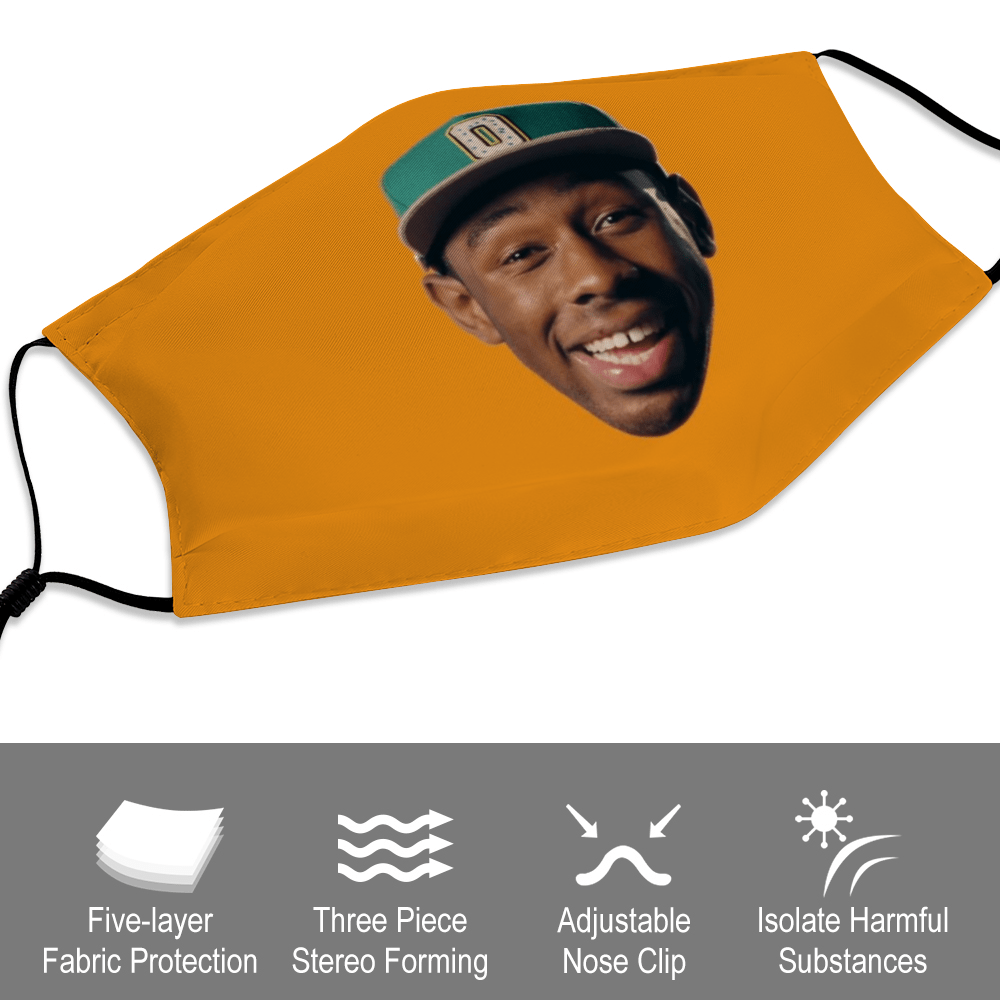 Tyler the Creator Poster Face Mask