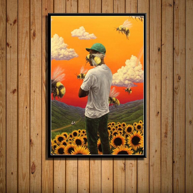 Tyler Creator Flower Boy Band Art Painting Poster