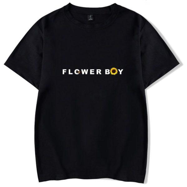 Flower Boy Tyler The Creator T-shirt O-Neck