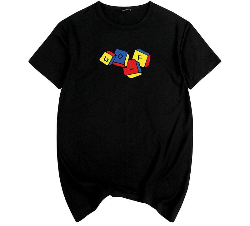 Golf Wang Tyler The Creator Cube T-shirt