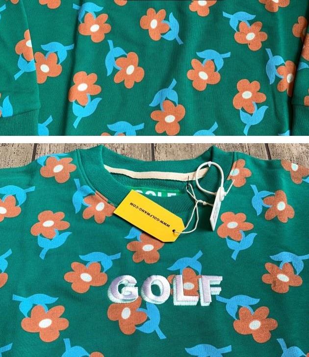 Unisex CREWNECK Golf Flower Le Fleur Sweatshirt