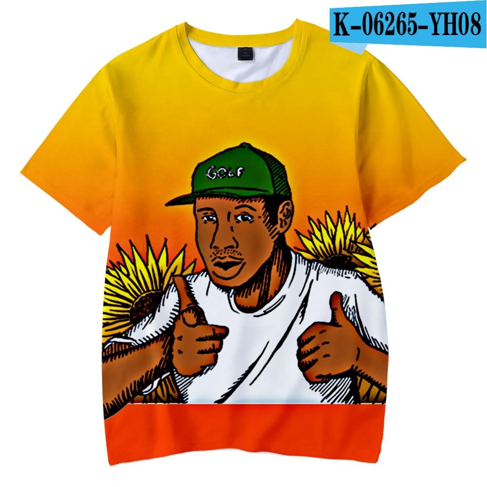 Tyler The Creator T-shirt 3D O-Neck T-shirts