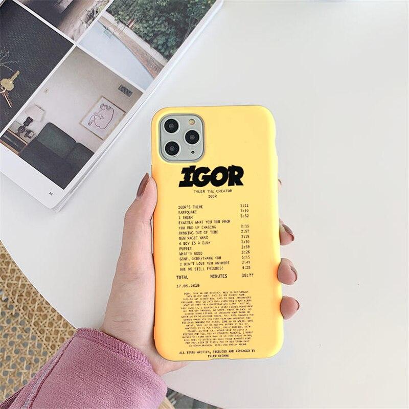 Golf Igor Bees Matte Yellow Phone Case