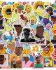 50PCS Rapper Tyler The Creator Stickers PVC (50 Rapper Tyler)