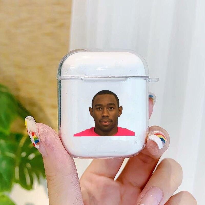 Tyler Flower Clear Airpod 2 Case