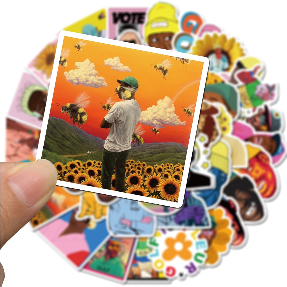 50PCS Rapper Tyler The Creator Golf Wang Sticker