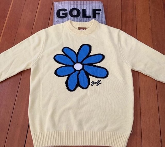 Golf Flower Le Fleur Tyler The Creator Sun Flower Sweater