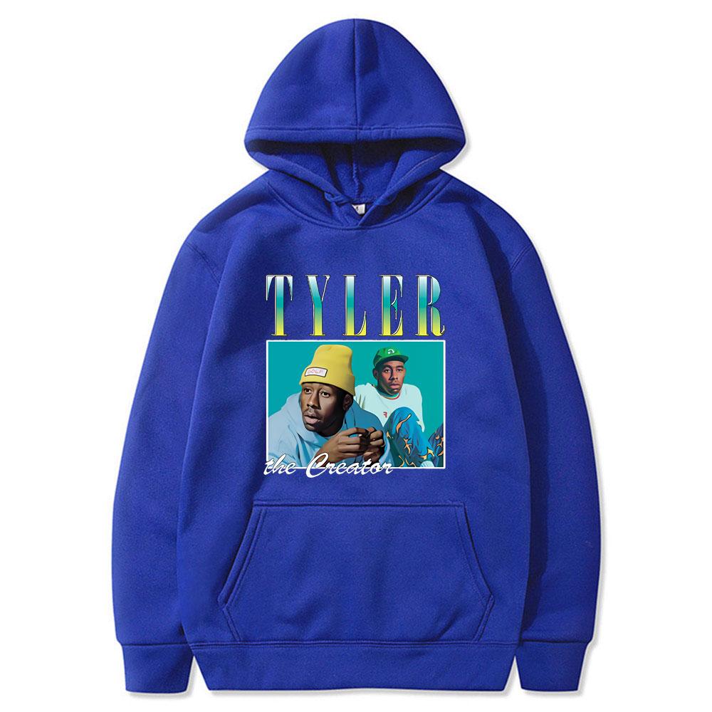 Tyler The Creator 90s Vintage Unisex Black Hoodie