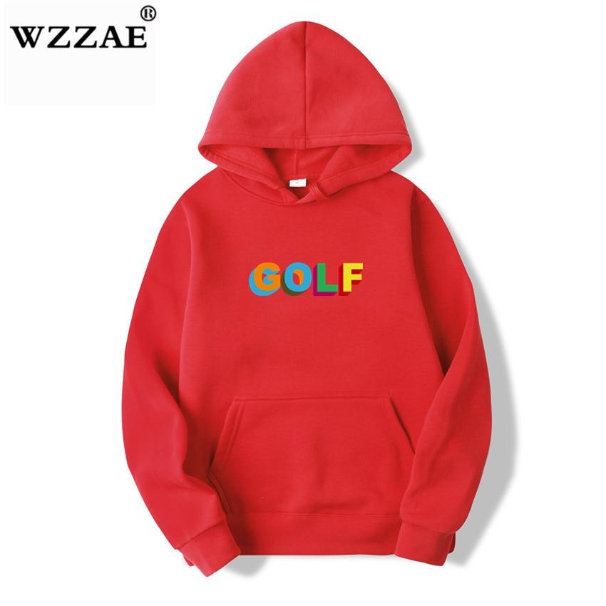 Tyler The Creator Real Golf Logo Hoodie