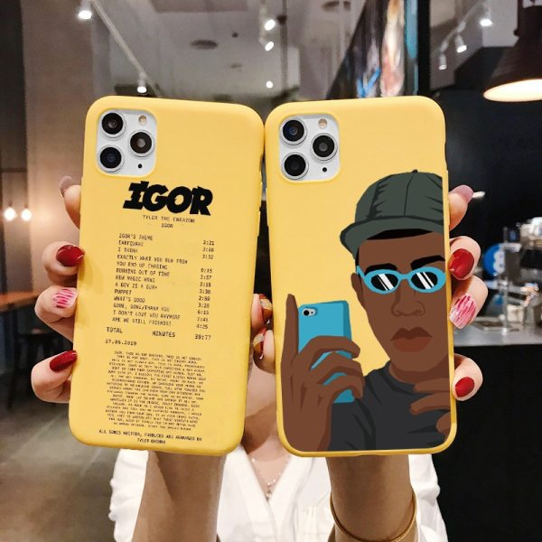 Golf Igor Bees Matte Yellow Phone Case