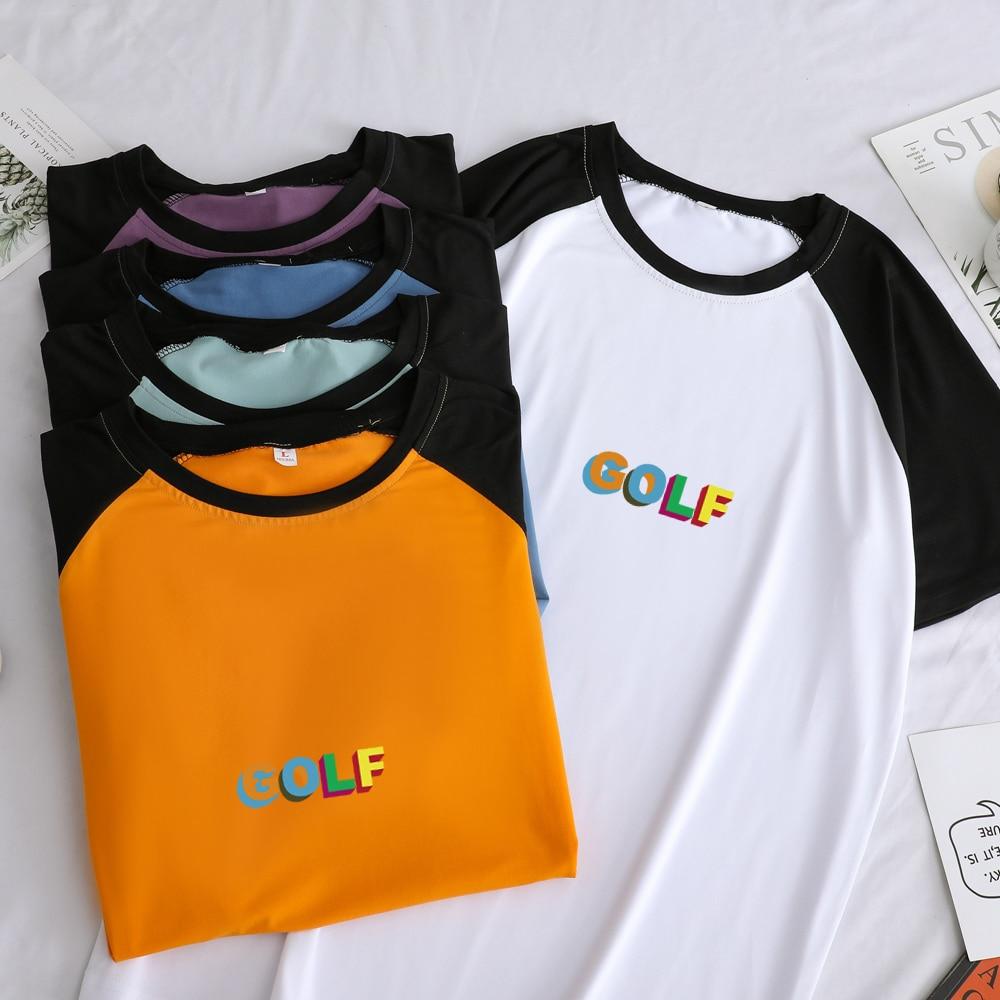 Golf Wang Reglan Sleeve Patchwork Loose T Shirt
